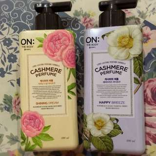 On The Body Cashmere Perfume Body Lotion 400ml