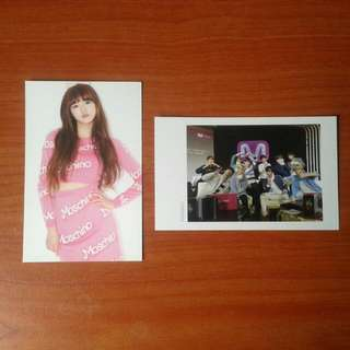 Wts Yooa Ohmygirl & Up10tion Mwave