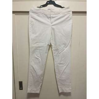 Old Navy white pixie jeans