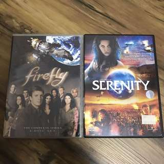 Firefly And Serenity Complete Tv Series Dvd Set