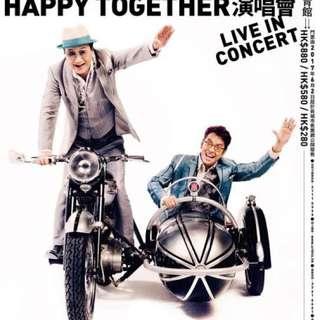 許冠傑 譚詠麟 阿Sam & 阿Tam Happy Together 演唱會