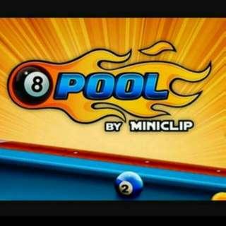 8 Ball Pool Coins / Premade Acc
