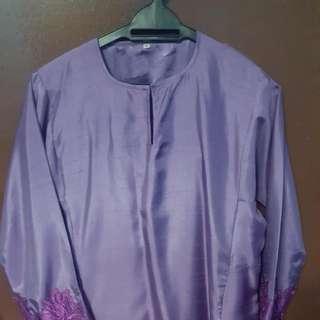 Baju Kurung Vietnam Silk
