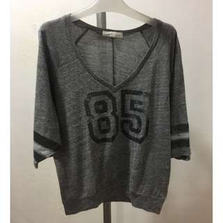 F21 Numbered Loose Top