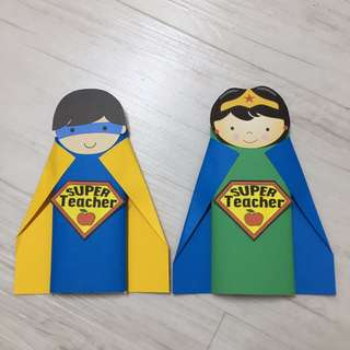 Teachers' Day gift - Superhero Chocolate bar (for Teachers' Day, Goodie Bags, Party Favours)