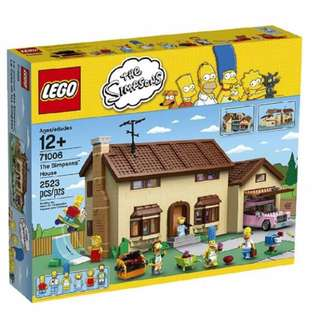 Lego 71006 Simpson House ( Limited Edition )
