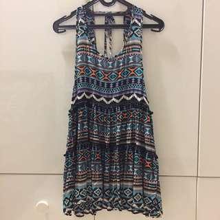 Love & Lies Patterned Dress
