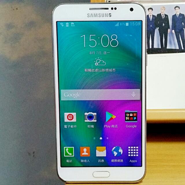 93% New Samsung Galaxy E7 White