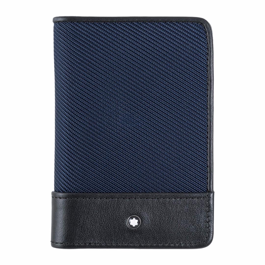 萬寶龍 MONTBLANC 型號:116790 Nightflight 名片夾(藍色)