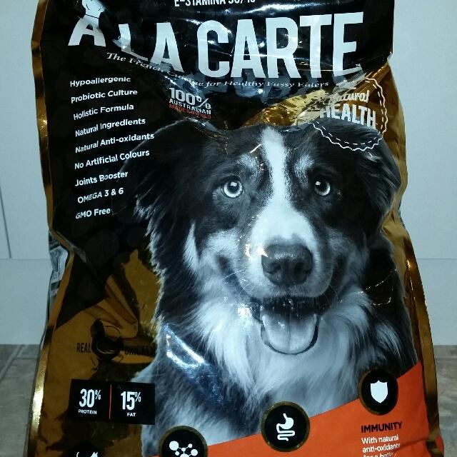 A La Carte E-Stamina Grain Free Dog Food