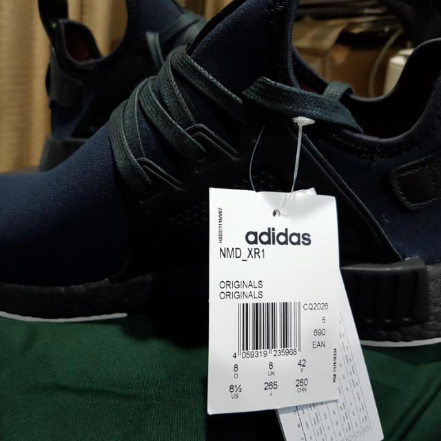timeless design 54e76 087d9 Adidas NMD XR1 Henry Poole, Luxury, Apparel on Carousell