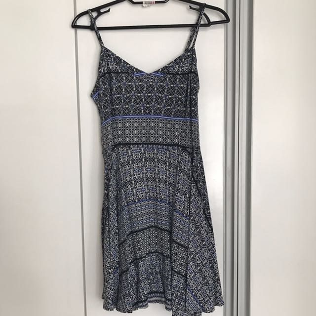 Aeropostale Printed Mini Dress