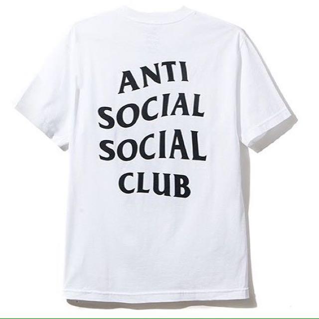 anti social social club tees