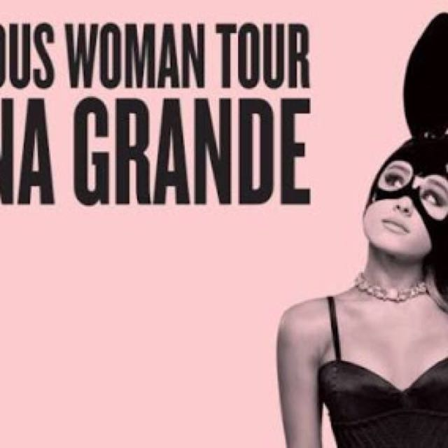 ARIANA GRANDE A RESERVE TICKET - ICC SYDNEY SAT SEP 9