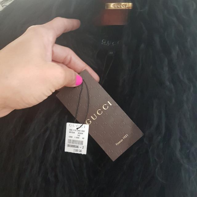 Authentic Gucci Lamb Fur Vest