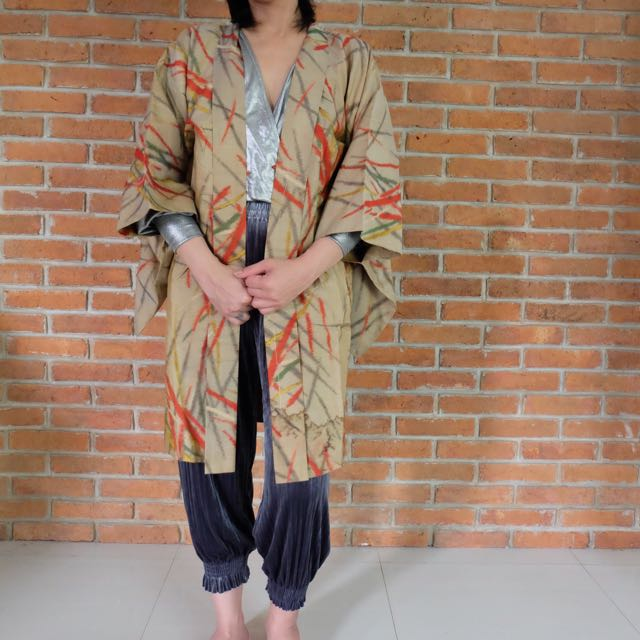 Authentic Japanese Silk Yukata