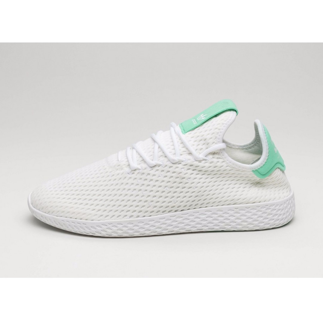 333d9c7090af1 Authentic Pharrell Williams x Adidas Originals Tennis HU (Green ...