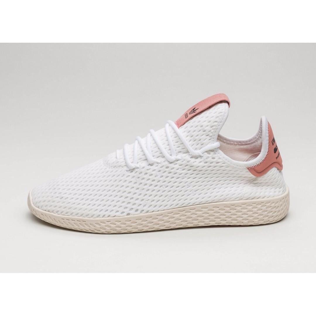 f34c9bf26 Authentic Pharrell Williams x Adidas Originals Tennis HU (Pink ...