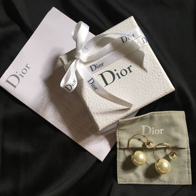 Authentic Ultra Dior Pearl Earrings