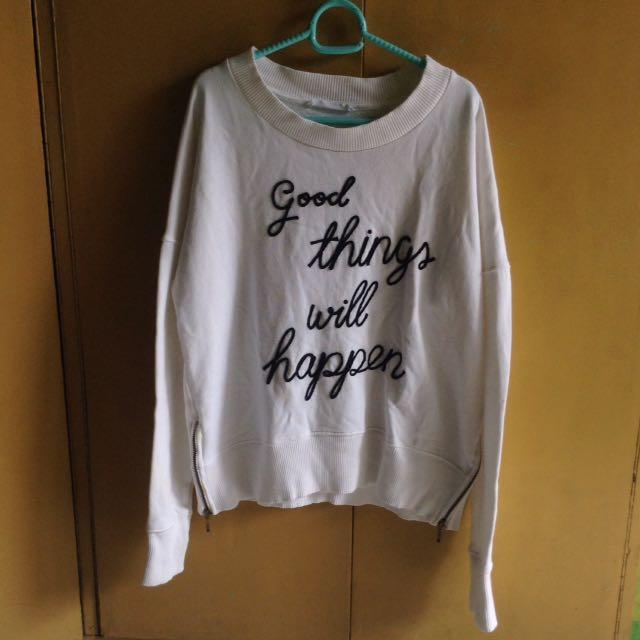 Authentic White Mango Sweater