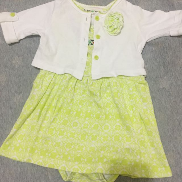 Baby Dress Romper Birds&Bees