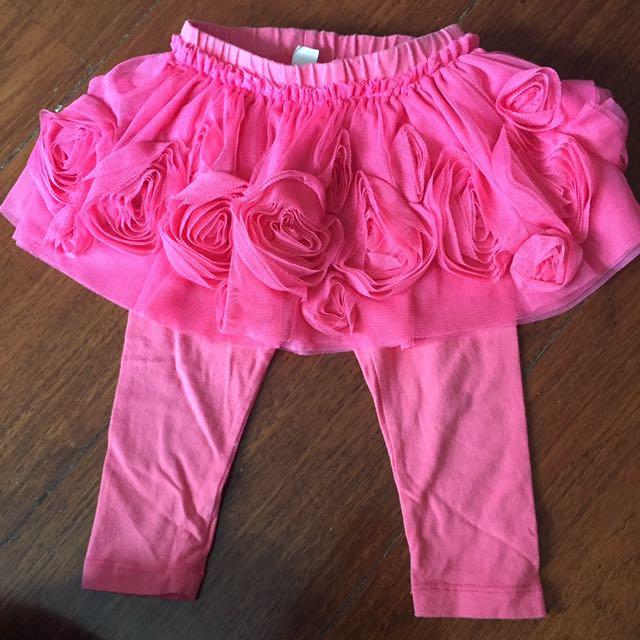 Baby Gap Tulle Skirt With Leggings