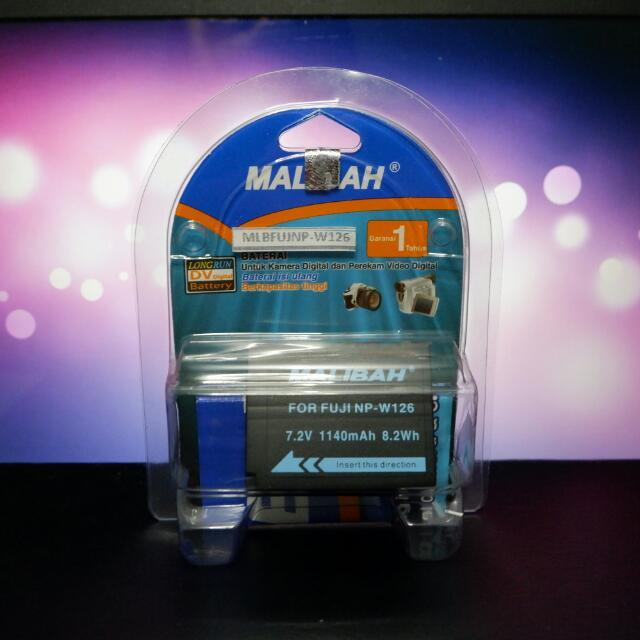 baterai kamera fujifilm xa3 merk malibah
