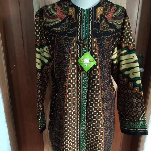 batik loose dress