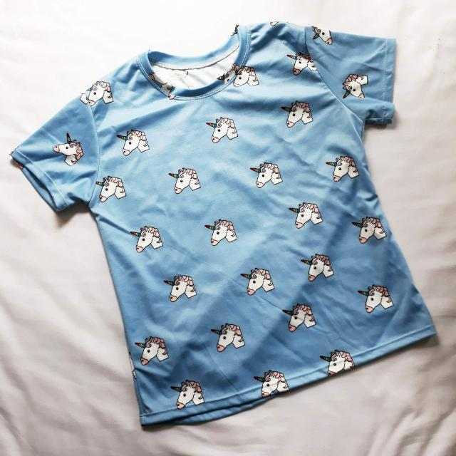 Brand New : Blue Unicorn Shirt