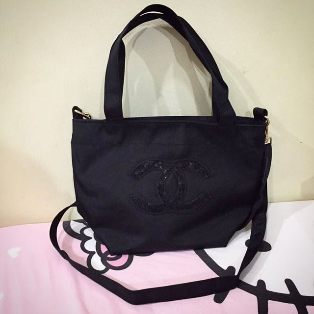 Brand New Authentic Chanel Two Ways Tote Bag