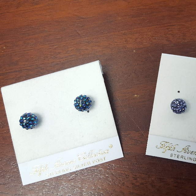Brand New Fifth Avenue Earrings