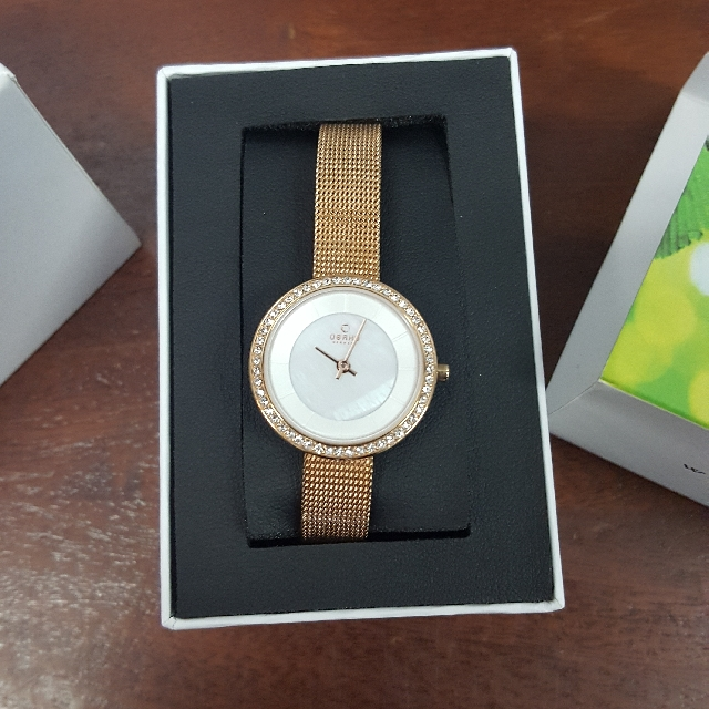 BRAND NEW OBAKU Gold Watch