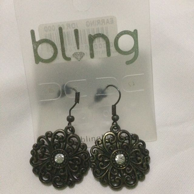 Bronze Earrings from Bling