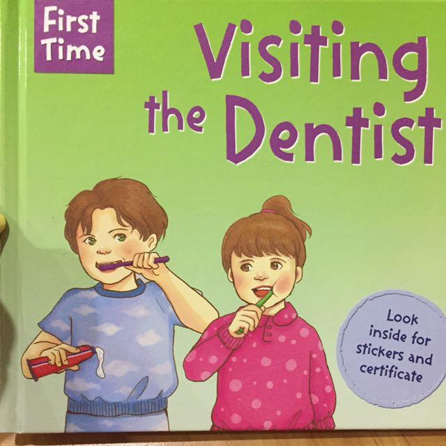 Buku First Time To Dentist