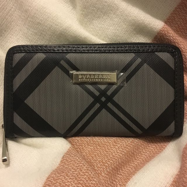 Burberry Inspired Wallet