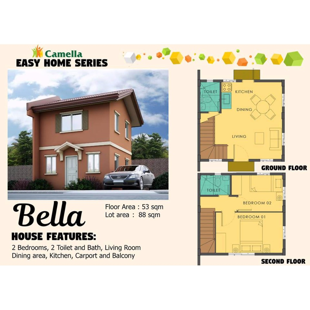 Camella Easy Home Series: BELLA