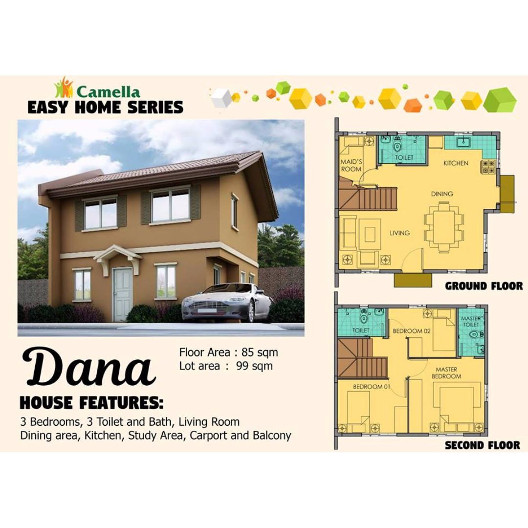 Camella Easy Home Series: DANA