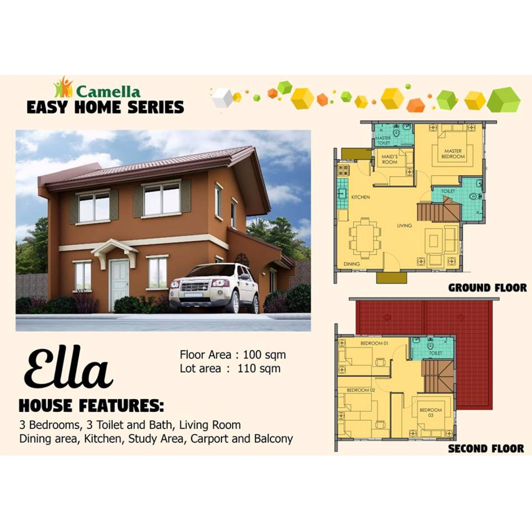 Camella Easy Home Series: ELLA