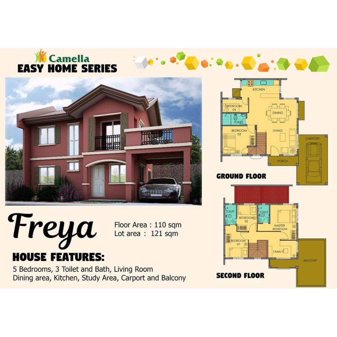 Camella Easy Home Series: FREYA