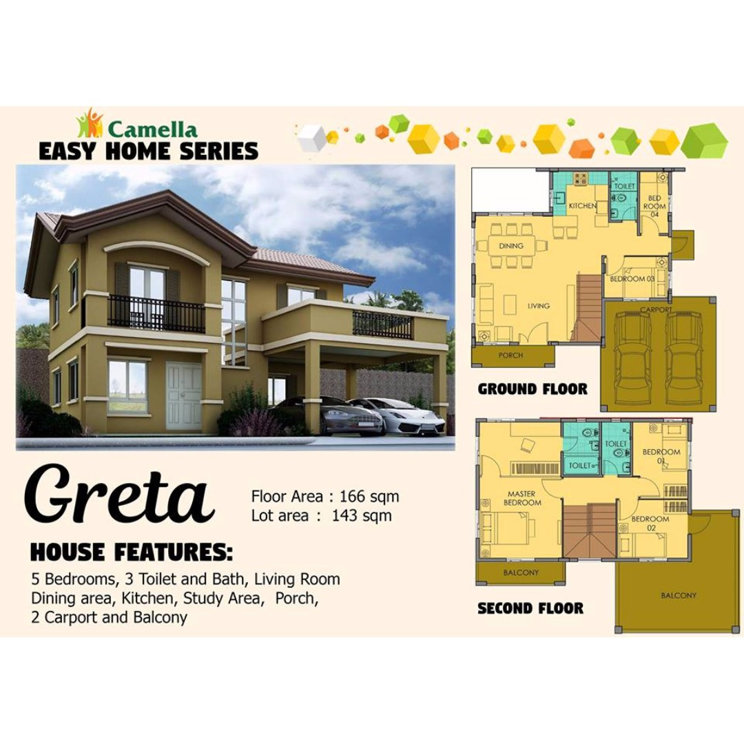 Camella Easy Home Series: GRETA