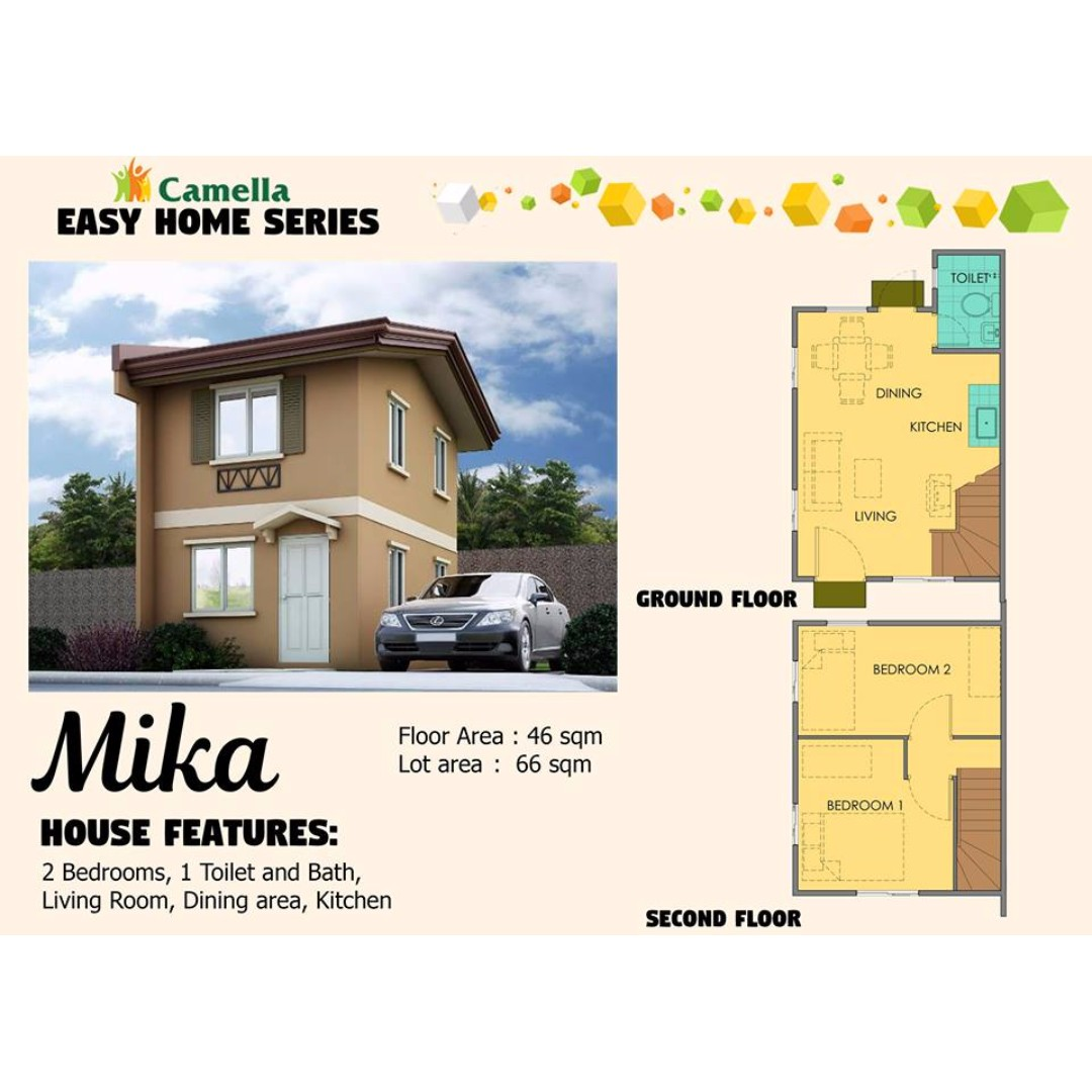 Camella Easy Homes Series: MIKA