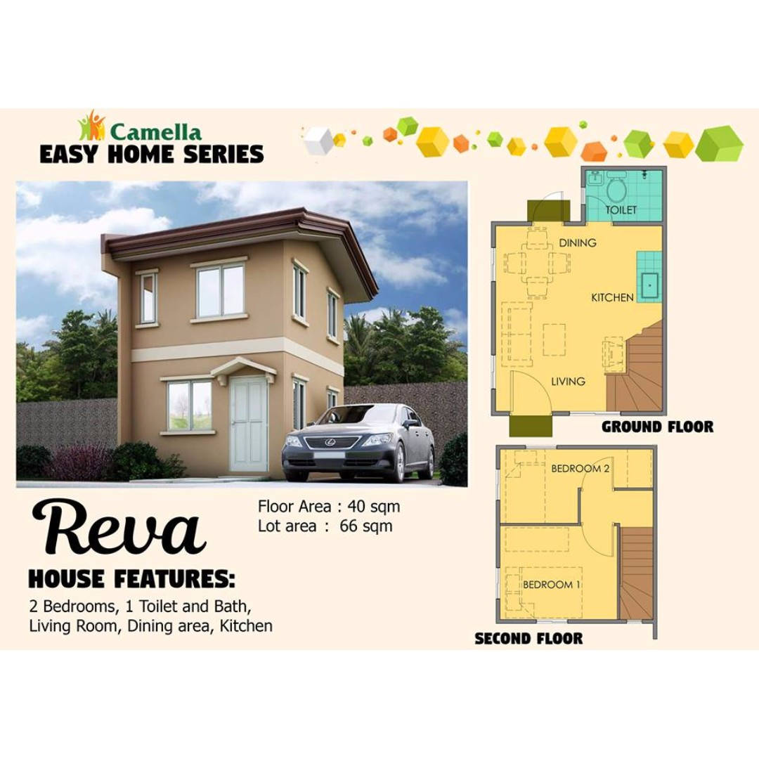Camella Easy Homes Series: REVA