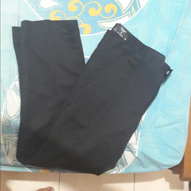 Celana Bahan Kerja Hitam Merk Remus Size 42