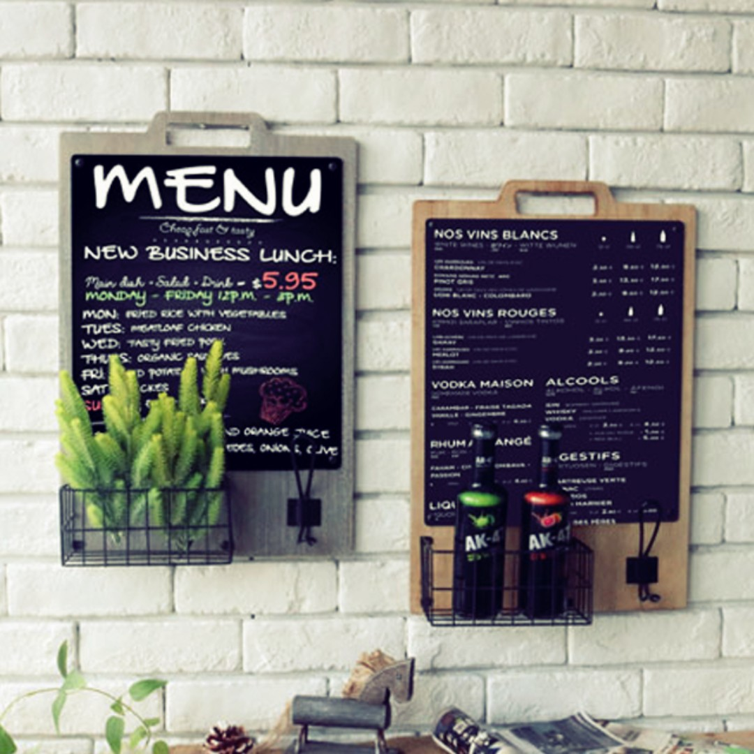 decorative chalkboards for various functions. Photo Decorative Chalkboards For Various Functions