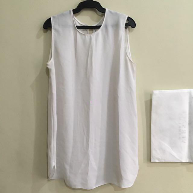 Chiffon sleeveless