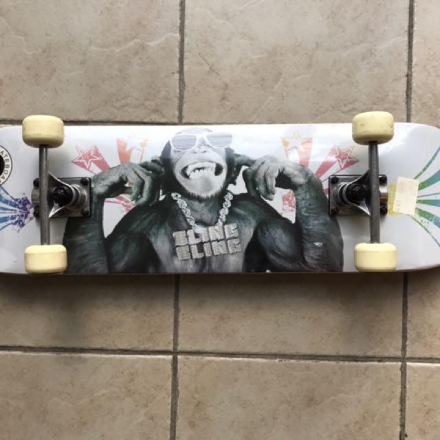 Chimp Skate Board