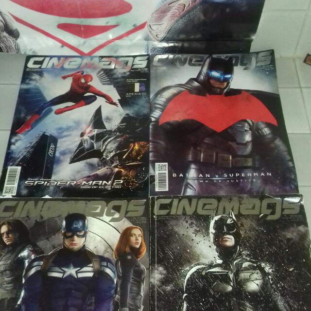 Cinemags Magazine Superhero Edition