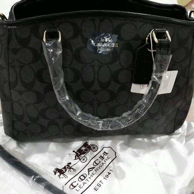 Coach Sling And Hand Bag