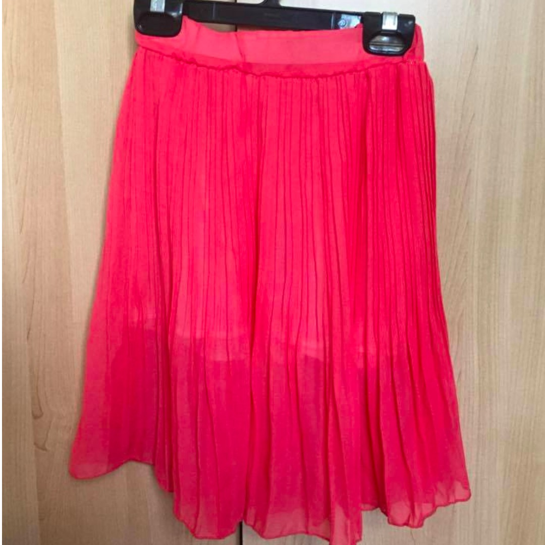 Coral/Pink skirt -No size