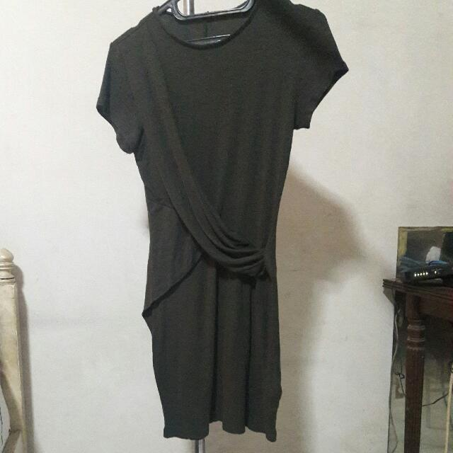 Cotton On - Olive Green Dress